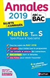 Annales ABC du BAC 2019 - Maths Term S Spé&Spé...