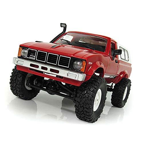 EisEyen WPL C-24 2,4G 1:16 Pick-up Truck 4WD RC Auto Ferngesteuert Robot Fahrzeug LKW Spielzeug Blau/Rot