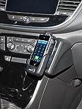 KUDA 2610 Halterung Echtleder schwarz für Opel Mokka X ab 2016