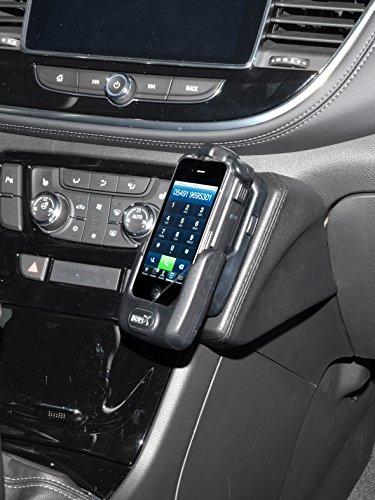 KUDA 2610 Halterung Echtleder schwarz für Opel Mokka X ab 2016 - Mokka-konsole