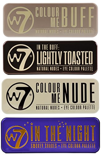 W7 (W7 In The Buff+ Nude+ Night+ Lightly Toasted)