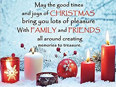 Christmas LED Canvas - Family & Friends produced by BrandSaver - quick delivery from UK.
