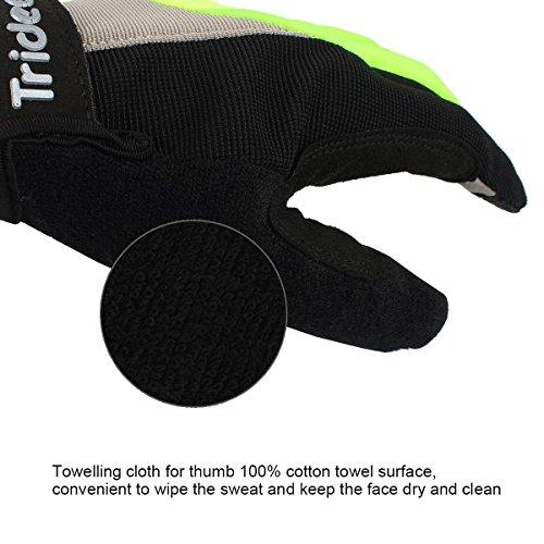 Trideer Fahrradhandschuhe mit Handgelenkstütze - 5