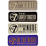 W7 (W7 In The Buff+ Nude+ Night+ Lightly Toasted) by w7