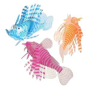 Réservoir artificielle 1pcs Aquarium Fish Poisson-scorpion Faux Ornement Décoration