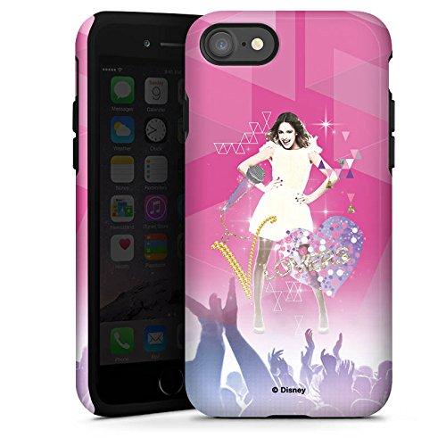 Apple iPhone SE Hülle Case Handyhülle Disney Violetta Fanartikel Geschenke Tough Case glänzend