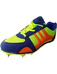 Aryans unisex Duster half spikes running shoes