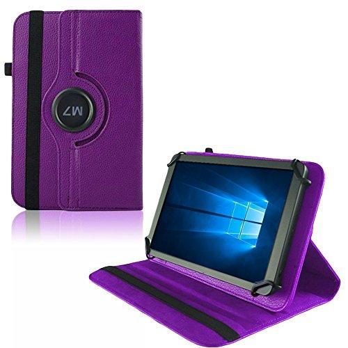 UC-Express Hülle Blaupunkt Enterprise 1020CH Tablet Tasche Schutzhülle Universal Case Cover, Farben:Lila