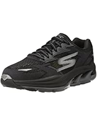 Skechers Men's Go Run Ultra R - Road Black and Grey Running Shoes