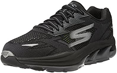 c3b74c0891e9 Skechers Men s Go Run Ultra R - Road Black and Grey Running Shoes ...