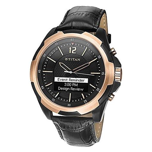 51Fs1m07p4L. SS510  - Titan 90055KL01J   Juxt rose gold SmartStrap watch