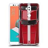 Head Case Designs Speed Rot Klassische Automobile Soft Gel Hülle für ASUS Zenfone 5 Lite ZC600KL