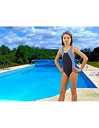 SK0036 STANTEKS Mädchen Badeanzug mit Schwimmerrücken Schwimmanzug Schwimmanzüge Schwimmbekleidung