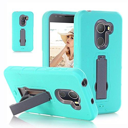 F&a® Festigkeit Smartphone Hülle mit Kickstand für Alcatel A30 Plus(2)