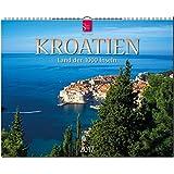 KROATIEN - Land der 1000 Inseln - Original Stürtz-Kalender 2017 - Großformat-Kalender 60 x 48 cm
