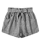 Daysing Shorts Femme été,Mini Jean Trou Sexy, Jeans Short Denim Frange Taille...
