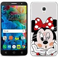 PREVOA Alcatel Pop 4 PLUS - Colorful Silicona Funda Case Protictive para Alcatel Pop 4 PLUS - Smartphone 5,5 pulgadas - 3