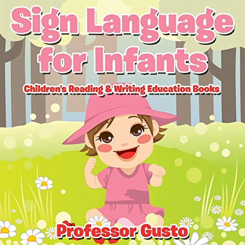Sign Language for Infants : Children's Reading & Writing Education Books Braille-flash