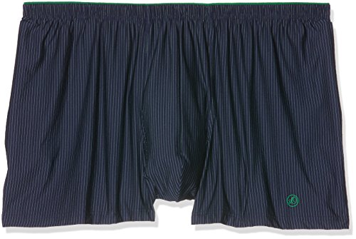 s.Oliver Herren Boxershorts 17703974297 Blau (Navy Green Stripe 58S2)