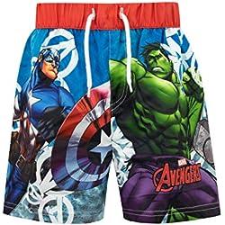 Marvel Bañador para Niño Avengers 3-4 Años