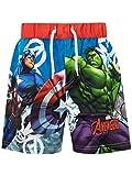 Marvel Costume da Bagno per Ragazzi a Due Pezzi Avengers Multicolore 7-8 Anni