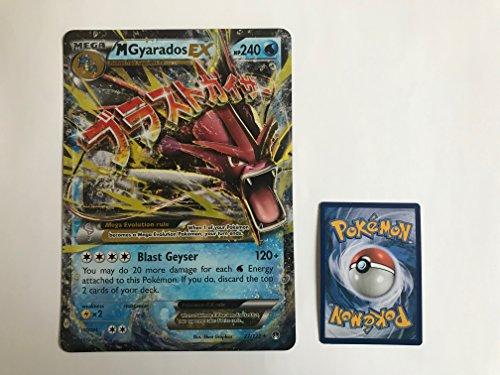 übergroße holografische Karte GYARADOS EX (Garados) 27/122 (Neue Pokemon Karten Ex Mega)