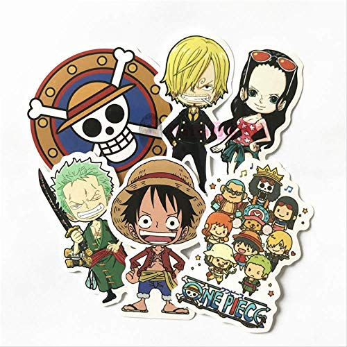 WH MaiYY Anime One Piece Road Fly Sticker