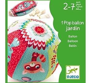 DJECO- Juegos de acción y reflejosJuegos de habilidadDJECOJuego Habilidad Garden Ball, (DJ02051)