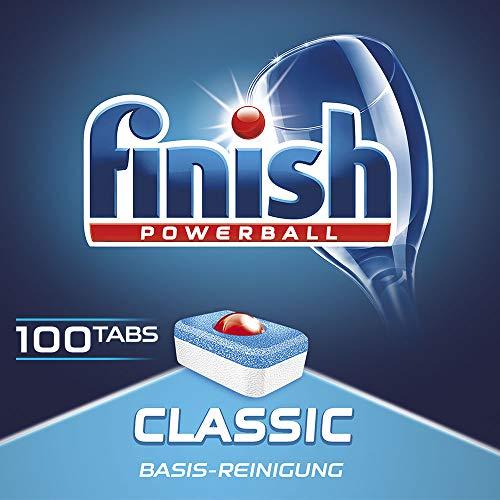 Finish Classic Megapack, Spülmaschinentabs, Spülmaschine, Geschirr, Geschirrspüler, Spülen, Reinigung, 100 Tabs