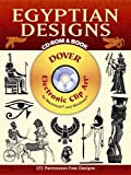Egyptian Designs CD-ROM and Book [With CDROM] (Dover Electronic Clip Art)
