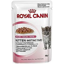 Royal Canin Kitten Instinctive, Comida para Gatos - Paquete de 12 x 85 gr - Total: 1020 gr