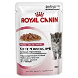 Royal Canin Feline Portionsbeutel Multipack Kitten Instinctive in Gelee 12x85g