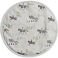 Sophie Allport Hob Cover Round - Horses design