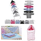 #9: Fareto® New Born Baby 3 in 1 Pack of Daily Needs Items- Set of 23 Items(0-3 Months) (Pink)