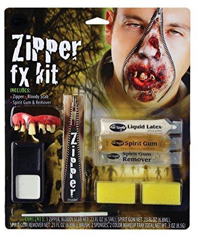 Zombie Luxus Reißverschluss FX Charakter Kit