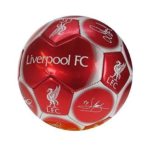 Liverpool FC Signature Geschenkideen-Skull Ball, ideal als Geschenk für Fußball-Fans (Liverpool-fußball-ball)