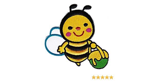 Aufn/äher B/ügelbild Aufb/ügler Iron on Patches Applikation Kinder Baby Biene Hummel