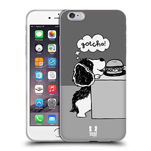 Head Case Designs Snitch Oscar E Howard Nero E Bianco Cover Morbida In Gel Per Apple iPhone 6 Plus / 6s Plus Gotcha