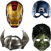 Marvel Avengers 4-Pack Party Masks (máscara/careta)