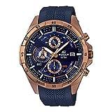 Casio Edifice Analog Blue Dial Men's Watch - EFR-556PC-2AVUDF (EX386)