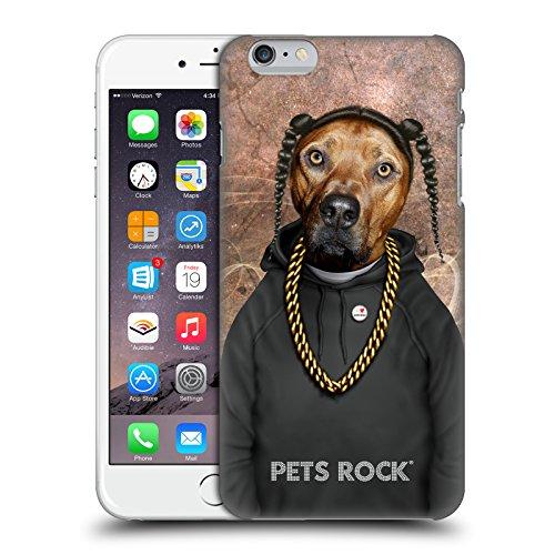 Ufficiale Pets Rock Vegas Musicisti 2 Cover Retro Rigida per Apple iPhone 6 / 6s Rap