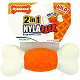 Nylabone 2-in-1 Nylaflex Weave Bone Chew Toy - Large
