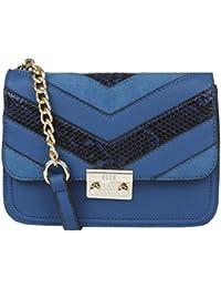 Elle Women's Sling Bag (Blue)