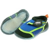 Swimpy Chaussures de bain anti-UV pour garçon Motif Beach