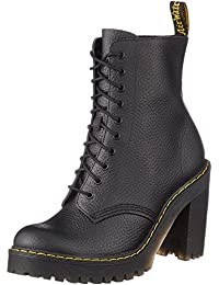 Dr.Martens Womens Kendra 10-Eyelet Leather Boots