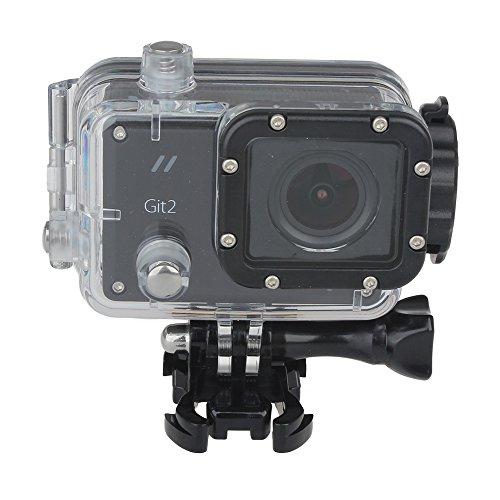 GitUp-Gitup-Git2-Novatek-96660-1080P-macchina-fotografica-di-WiFi-del-casco-2K-Sport-con-un-portachiavi-Add-44in1-Pack-and-Battery-Set