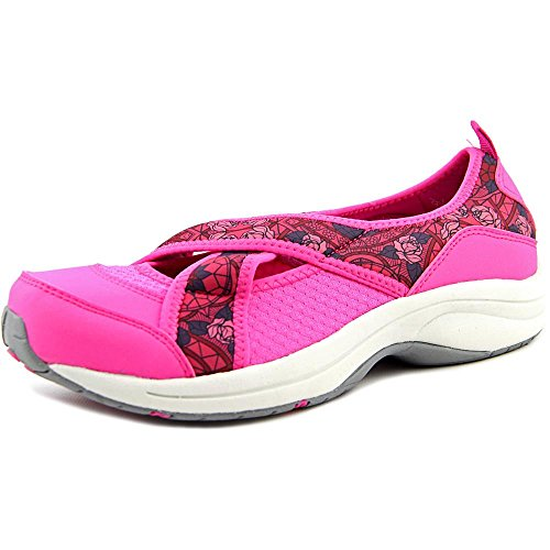 Easy Spirit Wayanna Damen Rund Stoff Mary Janes Red Multi