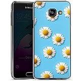 Samsung Galaxy A3 (2016) Housse Étui Protection Coque Pâquerette Fleurs Fleurs