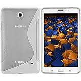 mumbi S-TPU Coque pour Samsung Galaxy Tab 4 T230 T235 (7 pouces) transparent blanc (import Allemagne)
