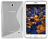 mumbi S-TPU Schutzhülle für Samsung Galaxy Tab 4 T230 T235 (7 Zoll) Hülle transparent weiss